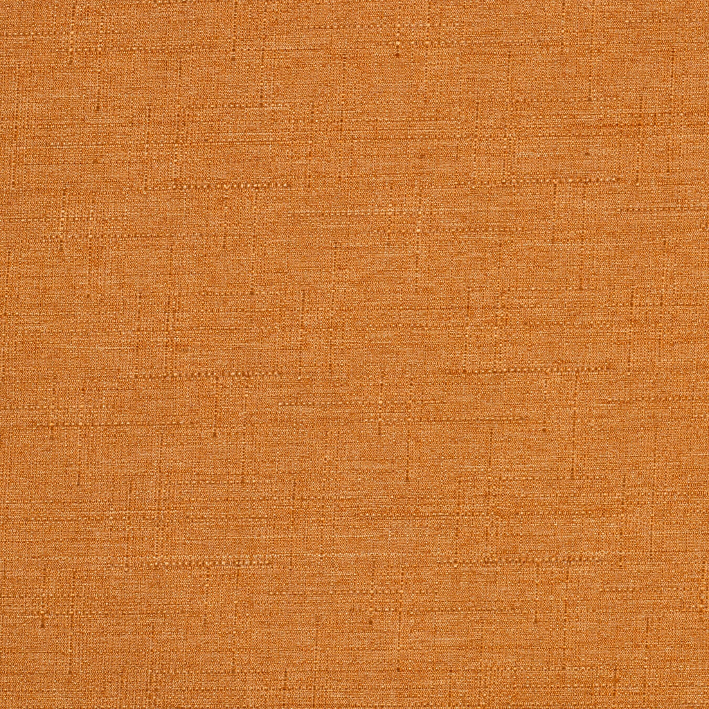 McAlister Textiles Nero Burnt Orange Linen Blackout Fabric Fabrics 1 Metre