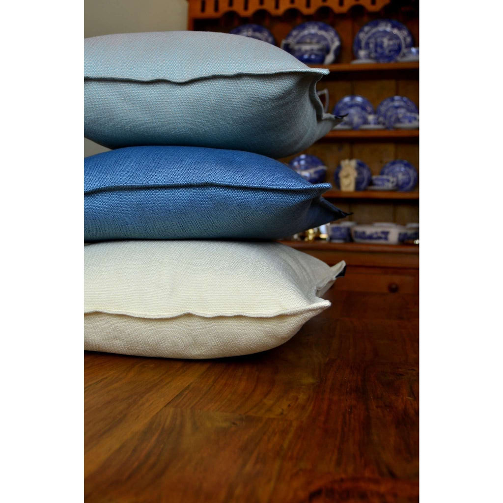 McAlister Textiles Savannah Duck Egg Blue Pillow Pillow
