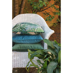Charger l'image dans la galerie, McAlister Textiles Palm Leaf Velvet Print Cushion Cushions and Covers