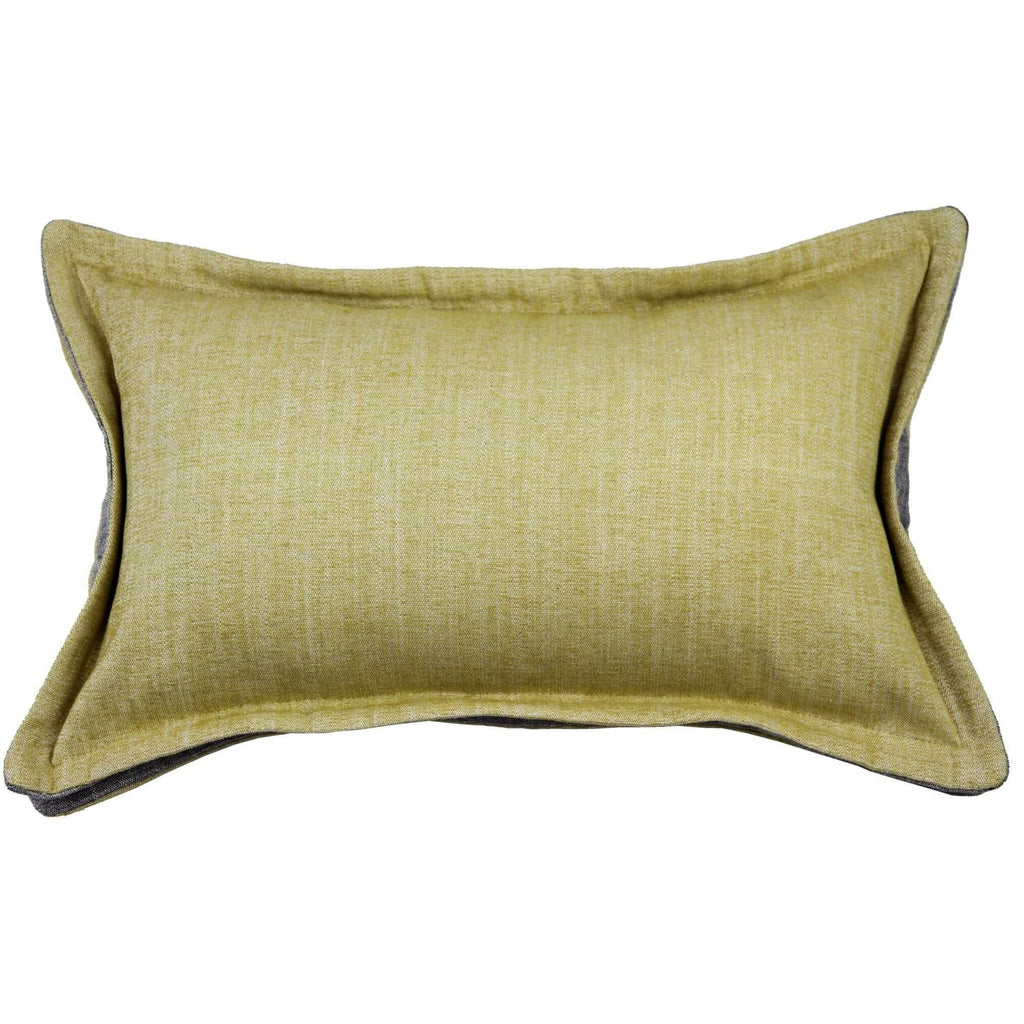 McAlister Textiles Rhumba Accent Ochre Yellow + Grey Cushion Cushions and Covers Cover Only 50cm x 30cm