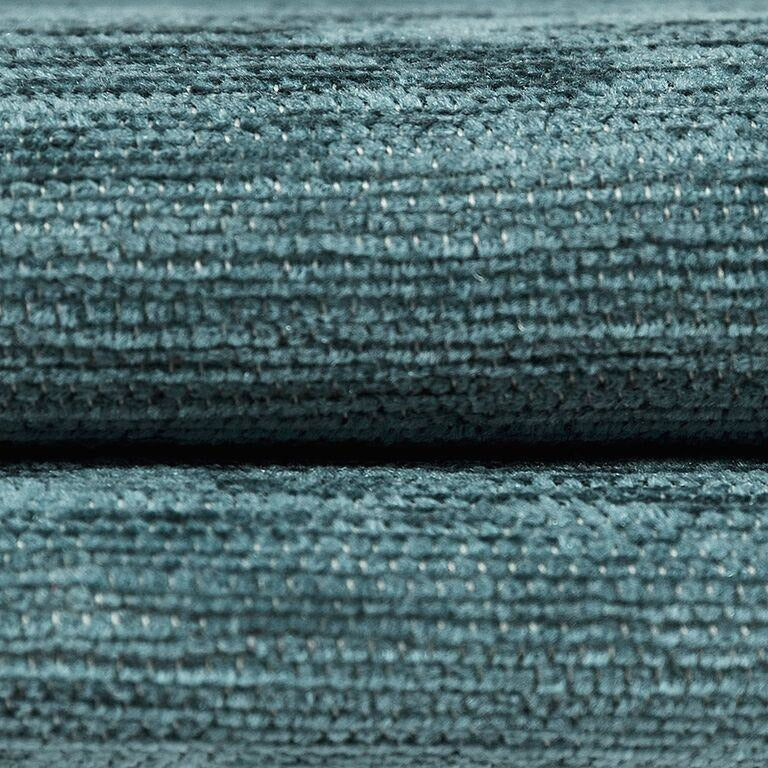 McAlister Textiles Plain Chenille Wedgewood Blue Curtains Tailored Curtains