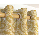 Carica l'immagine nel visualizzatore di Gallery, McAlister Textiles Little Leaf Ochre Yellow Curtains Tailored Curtains