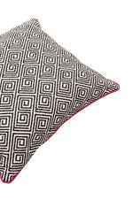 Load image into Gallery viewer, McAlister Textiles Acapulco Black + White Abstract Pillow Pillow