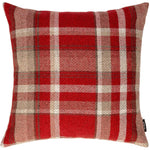 Charger l'image dans la galerie, McAlister Textiles Heritage Red + White Tartan Pillow Pillow