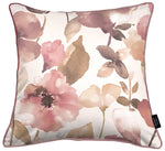 Load image into Gallery viewer, McAlister Textiles Blush Pink Floral Velvet Pillow Pillow