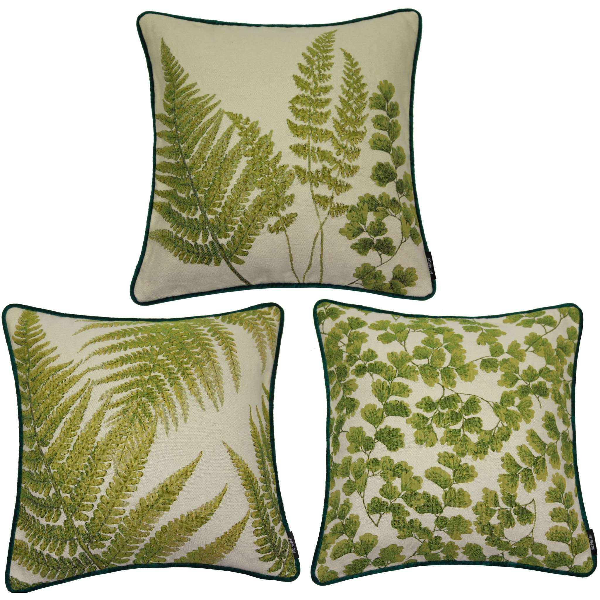 McAlister Textiles Tapestry Floral Cushion Sets Cushions and Covers Set of 3 Cushion Covers