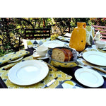 Load image into Gallery viewer, McAlister Textiles Magda Ochre Yellow Cotton Placemat Set Kitchen Accessories
