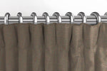 Carica l'immagine nel visualizzatore di Gallery, McAlister Textiles Panama Plain Truffle Curtains Tailored Curtains