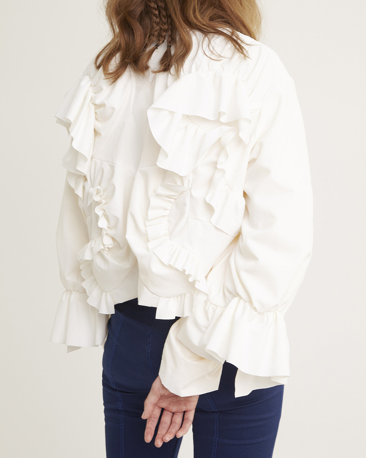 "SS17 ""Drunk"" Ruffled Jacket"