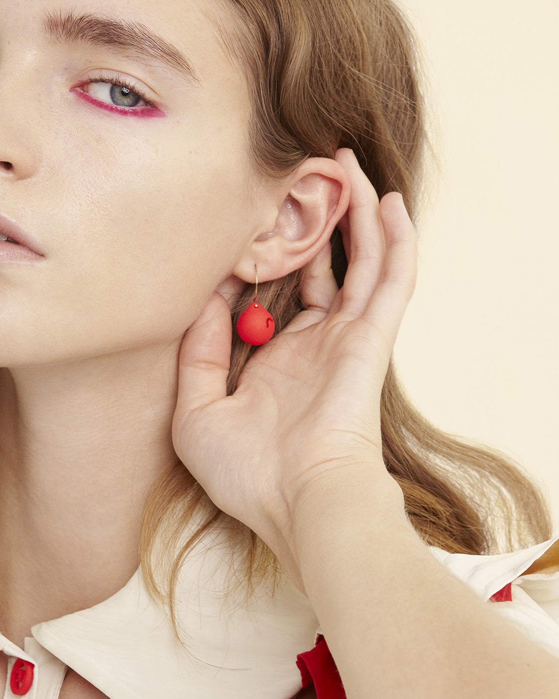 SS17 Small 3D-Printed Earrings