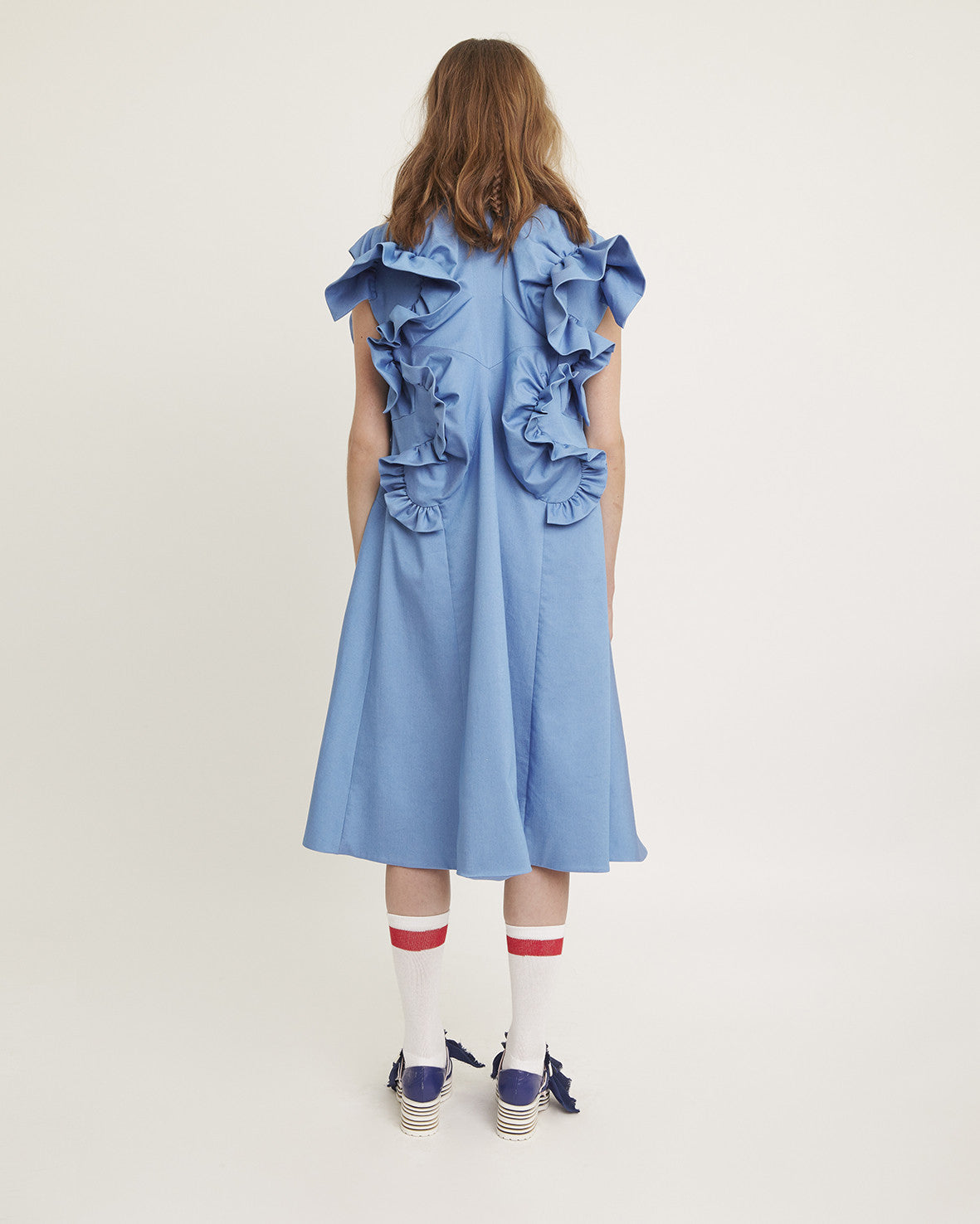 "SS17 ""Drunk"" Ruffled Dress"