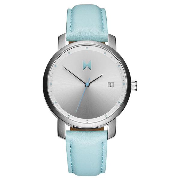 Đồng Hồ MVMT Silver/Arctic Leather