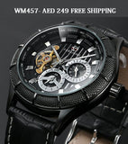 WM457 Turbine Tourbillon Chronograph Automatic watch