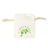 natural cotton jewelry bag