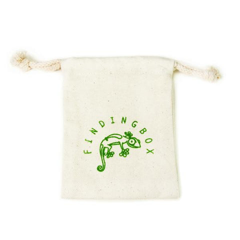 100 PCS Silkscreen Cotton Canvas, Drawstrings On the Top