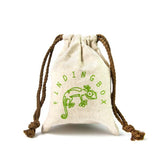Faux linen gift bags