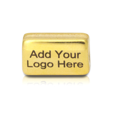 custom logo bead