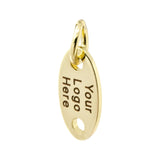 gold jewelry tag