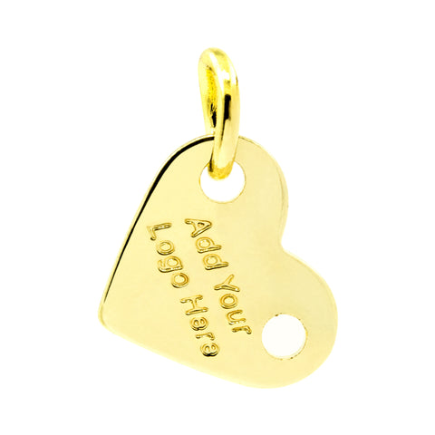 ETCHED LOGO TAG