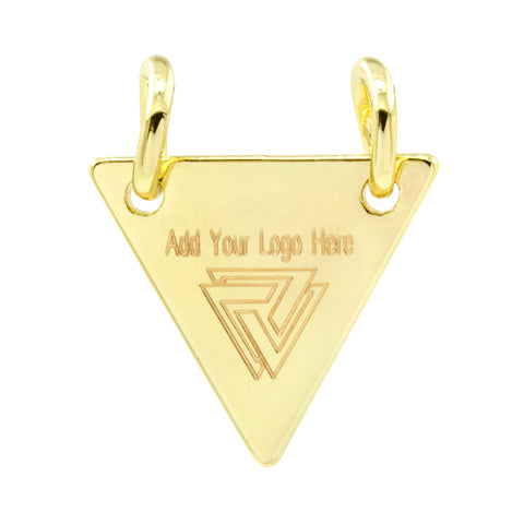 triangular jewelry tag