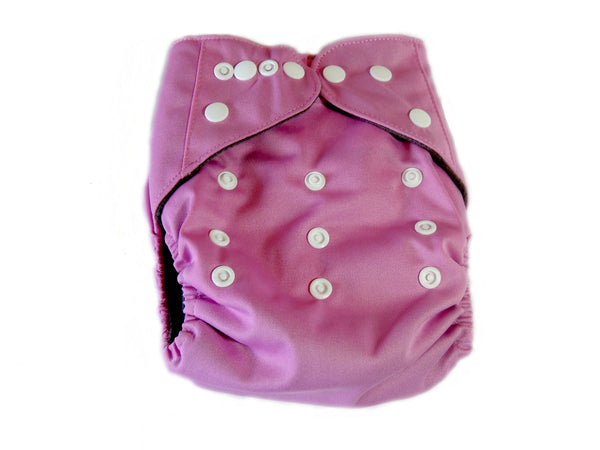 CB Pocket Diaper With Double Gussets - Pink