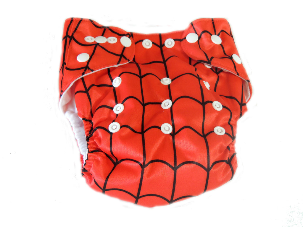 AI2 4.0 Diaper With Double Gussets - Spidey
