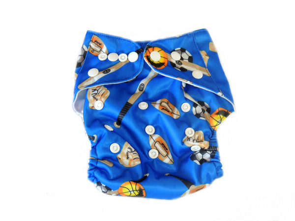 Pocket Diaper With Double Gussets Sports Cloth Diapers For Less