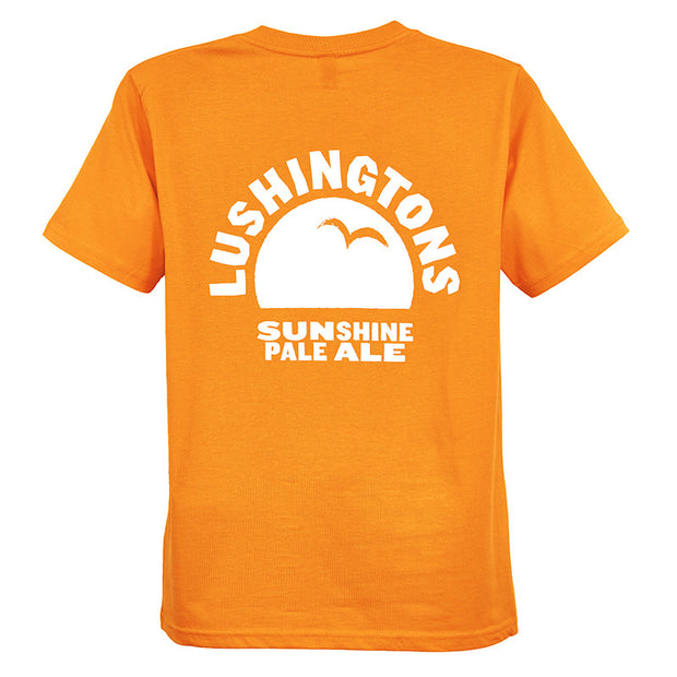 Lushingtons Short Sleeve T-shirt - Last Chance To Buy! (ONLY £4.95 FOR FIRST T SHIRT WHEN PURCHASED WITH ANY BEER THIS JANUARY & FEBRUARY!)