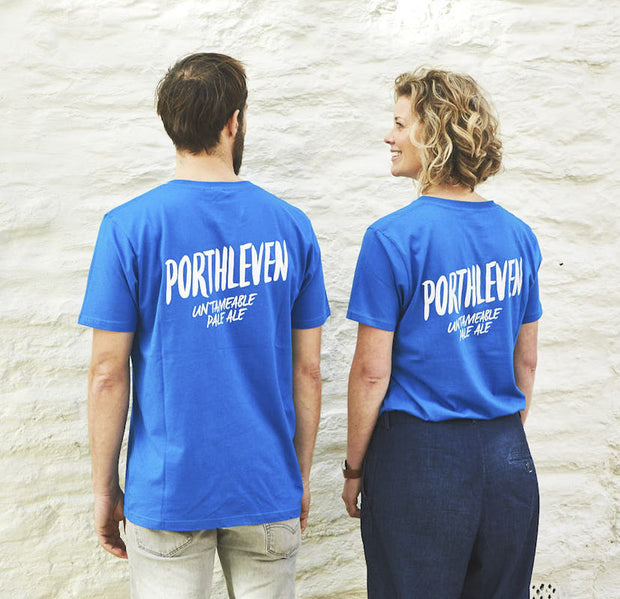 Porthleven Short Sleeve T-shirt - Last Chance To Buy! (ONLY £4.95 FOR FIRST T SHIRT WHEN PURCHASED WITH ANY BEER THIS JANUARY & FEBRUARY!)