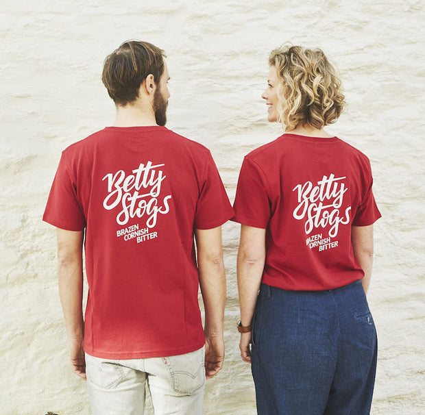 Betty Stogs Short Sleeve T-Shirt - Last Chance To Buy! (JUST £4.95 FOR FIRST T SHIRT WHEN PURCHASED WITH ANY BEER!)