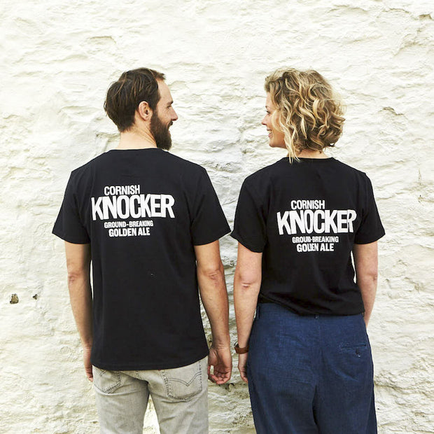 Cornish Knocker Short Sleeve T-shirt - Last Chance To Buy! (ONLY £4.95 FOR FIRST T SHIRT WHEN PURCHASED WITH ANY BEER THIS JANUARY & FEBRUARY!)