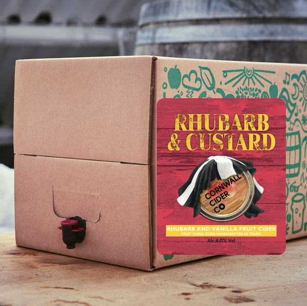 Rhubarb and Custard Cider