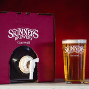 BEER IN A BOX! 18 Pints Poly Pins of Skinner's Real Ale