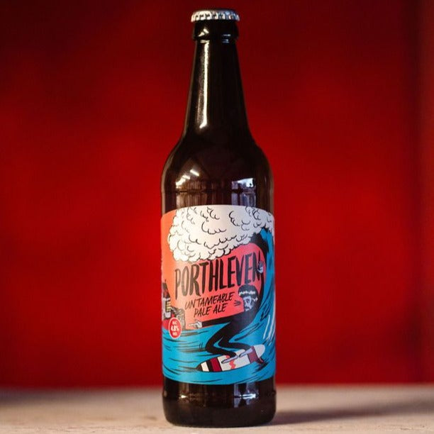 Porthleven, 4.8% abv, Untameable Pale Ale, 12x 500ml Bottle Case