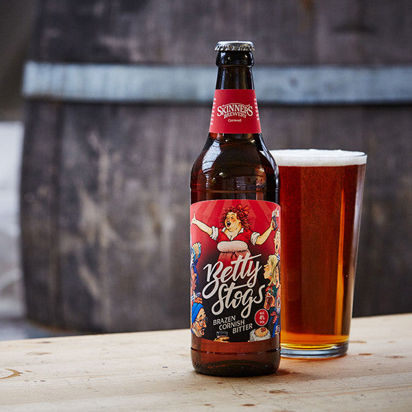 Betty Stogs Brazen Cornish Bitter