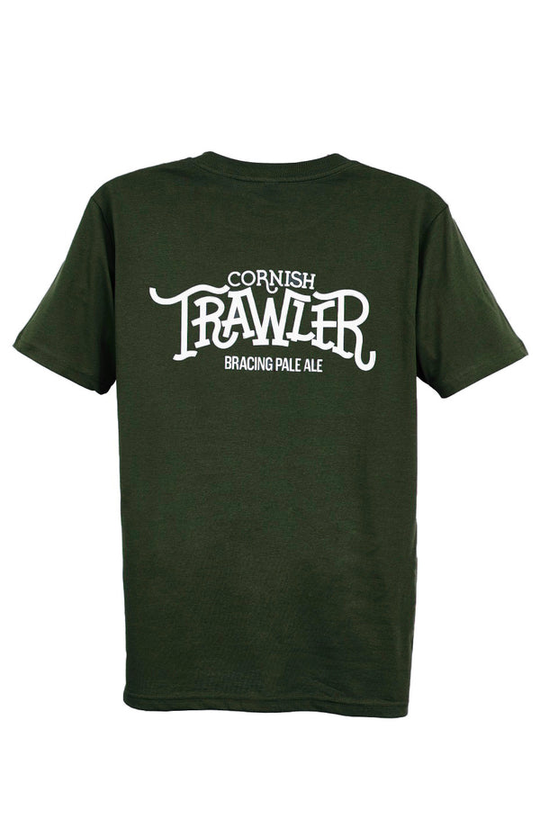 Cornish Trawler Short Sleeve T-Shirt - Last Chance To Buy! (ONLY £4.95 FOR FIRST T SHIRT WHEN PURCHASED WITH ANY BEER)