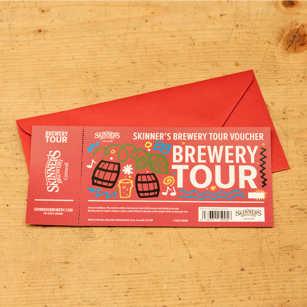 Brewery Tour Gift Voucher (for 2 people)