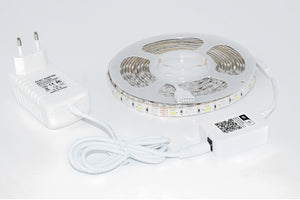 WOOX R4049 Smart HOME LED Strip, 150 LED, IN + OUT, 5 Meter, sprachgesteuert Alexa + Google