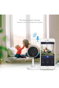 WOOX R4071 -Smart IP HD Überwachungs- Cam Tuya APP- Sprachst. Alexa Google 1080P