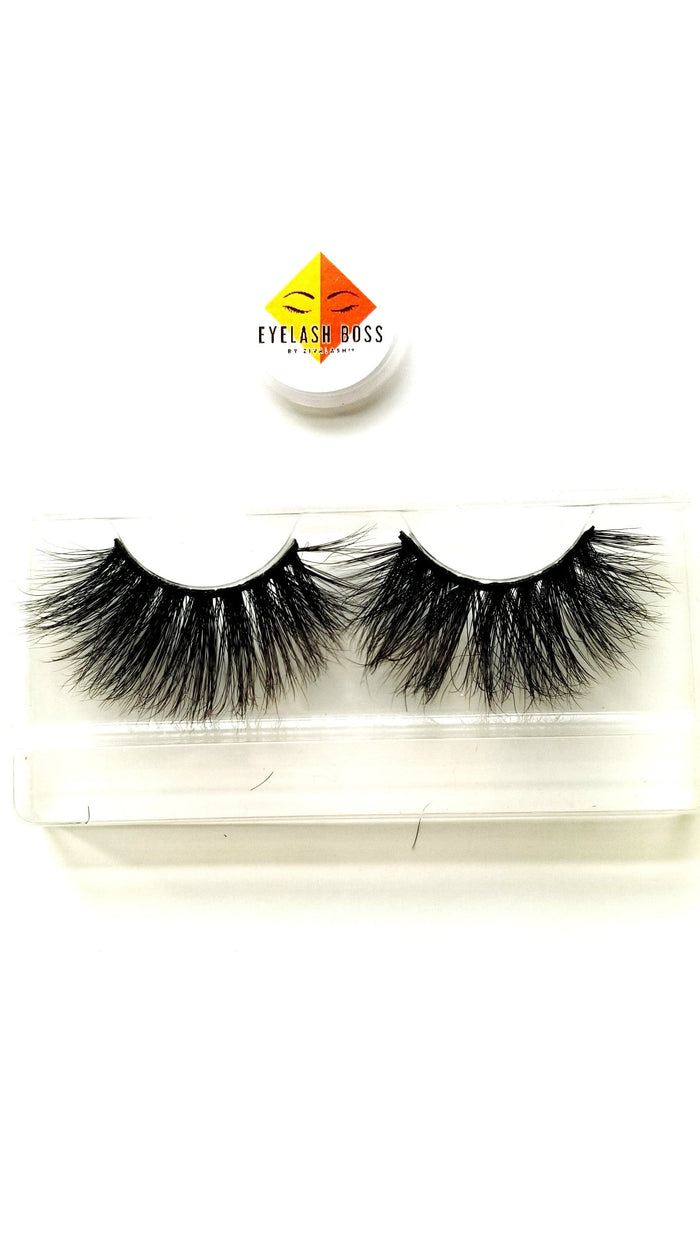 Shapoppin Flirts 25mm Mink Lashes - ZivaLash Silk, Mink &Fashion Lashes