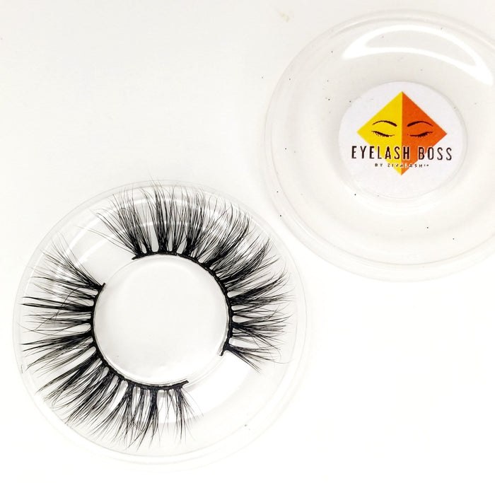 Bronzie 2D Mink Eyelashes - ZivaLash Silk, Mink &Fashion Lashes