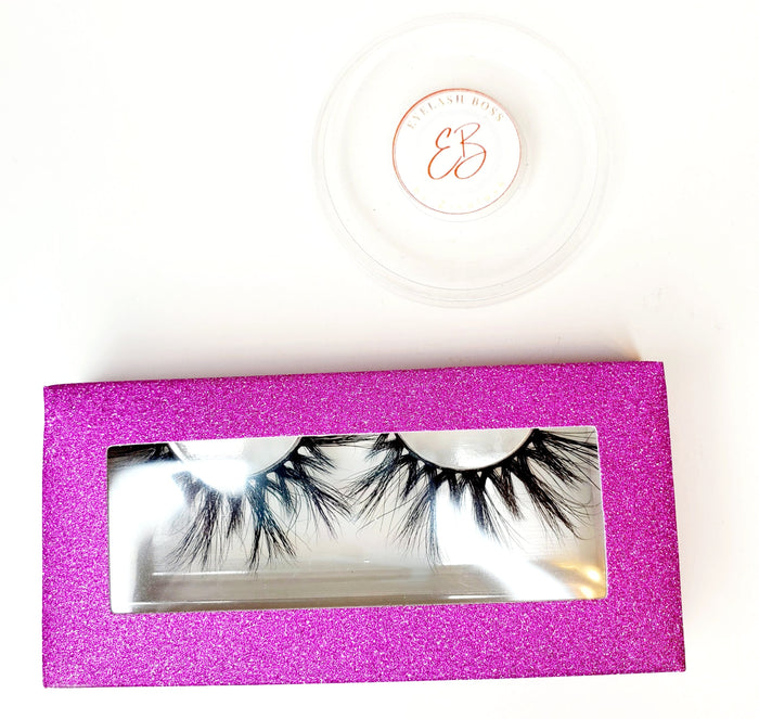 I'm in the Mood for Love- Rectangle Paper Eyelash Boxes - ZivaLash Silk, Mink &Fashion Lashes