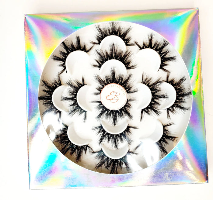 Irredescent Multiple Flowerlike Eyelash Plastic Trays - ZivaLash Silk, Mink &Fashion Lashes