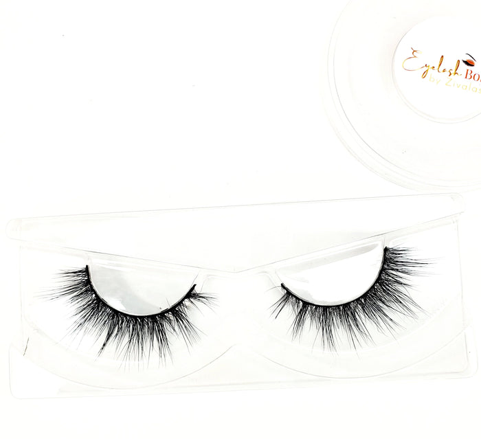Erica - 2D Mink Lashes - ZivaLash Silk, Mink &Fashion Lashes