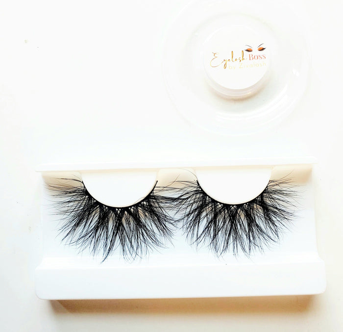Tickle Me Long Time 25MM Mink Eyelashes - ZivaLash Silk, Mink &Fashion Lashes