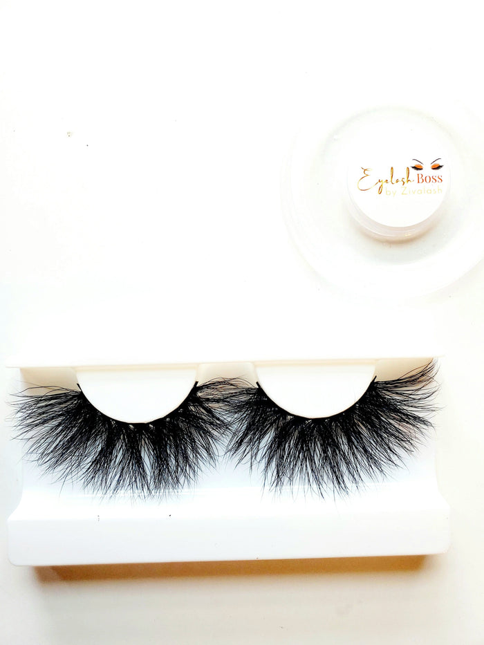 R!ch Bih' - 25MM Mink Lashes - ZivaLash Silk, Mink &Fashion Lashes