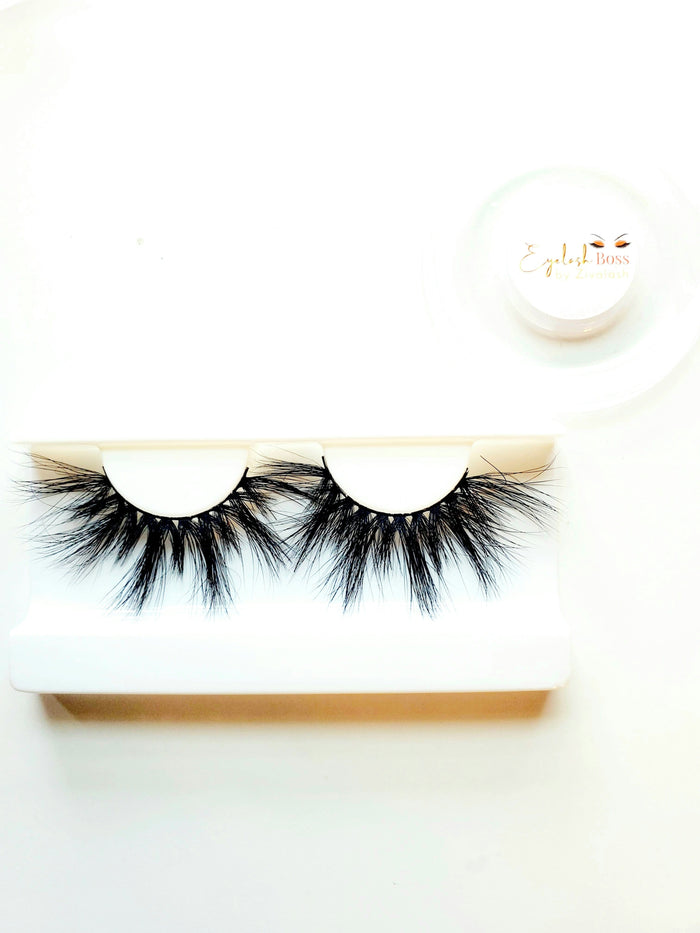 Allwayz 25MM Mink Eyelashes - ZivaLash Silk, Mink &Fashion Lashes
