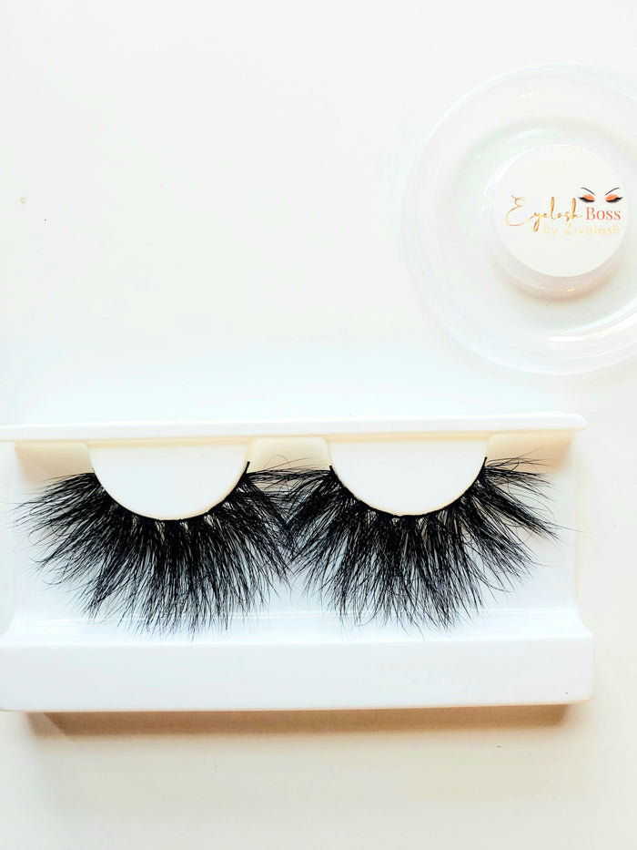 Goddess - We are the Original Queens 25MM Mink Lashes - ZivaLash Silk, Mink &Fashion Lashes