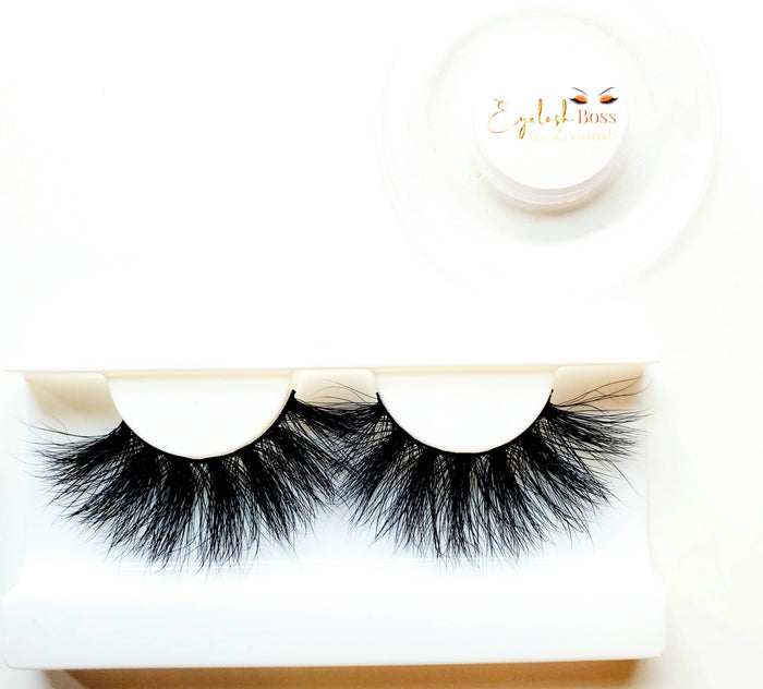 Drama Queen - Bring the Xtra 25MM Mink Lashes - ZivaLash Silk, Mink &Fashion Lashes