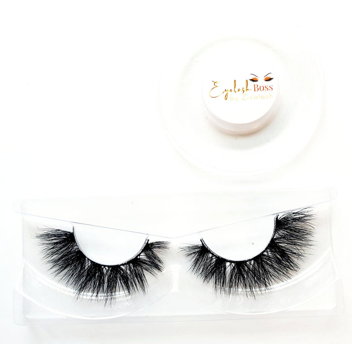 Bianca 3D Mink Eye Lashes - ZivaLash Silk, Mink &Fashion Lashes